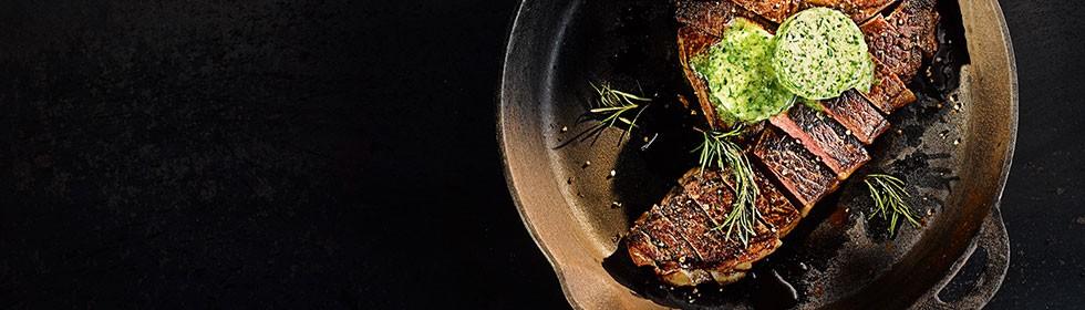 Bestes Dry Aged Steak aus der Pfanne