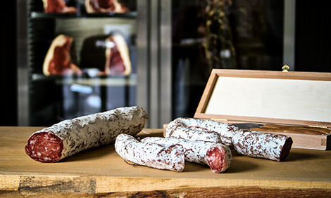 Dry Aged salami air-dried