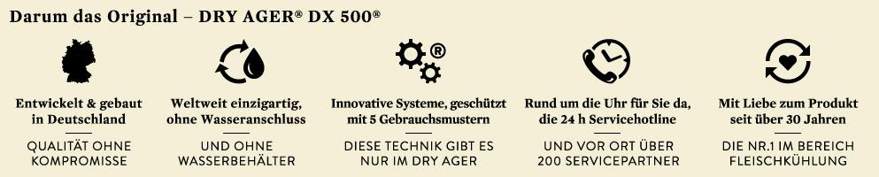 Dry Ager DX 500 Mehrwert