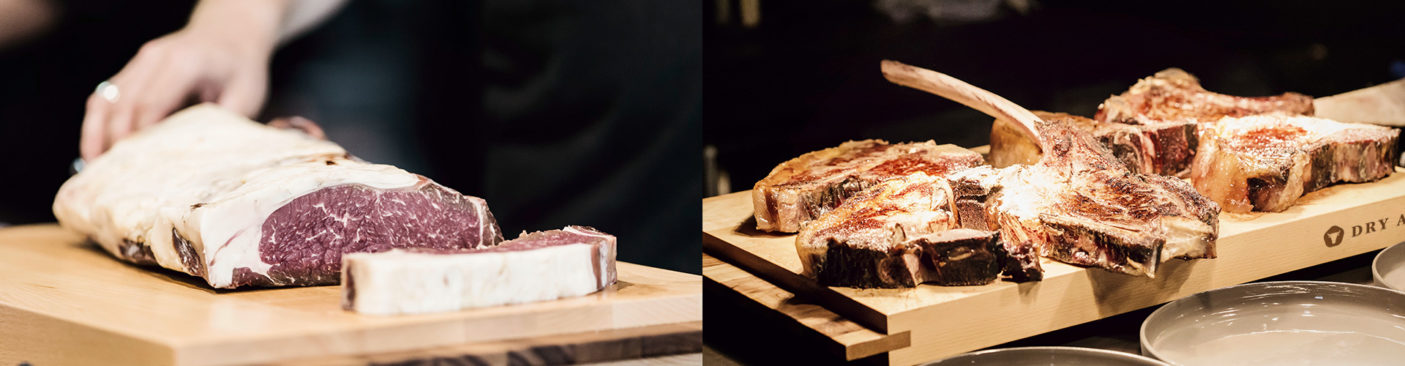 Taste in perfection – Dry Aged Beef before and after bbq