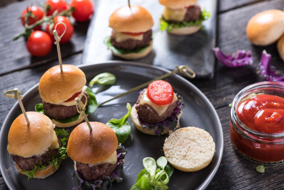 Dry-Aged Beef-Mini-Burger selbst gemacht