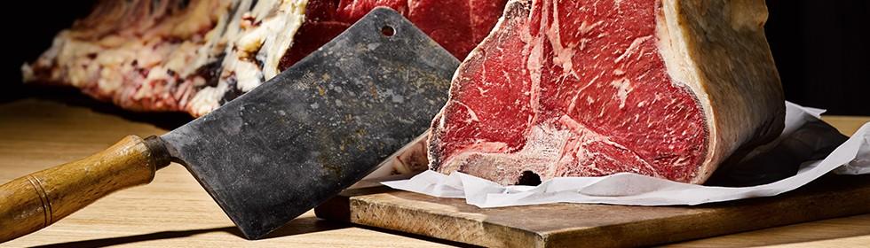 Trocken reifen: Dry Aged Beef und der vakuumgereifte Bruder