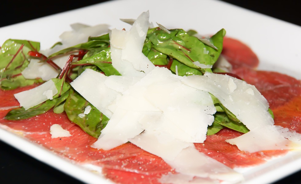 Dry-Aged Filet Carpaccio