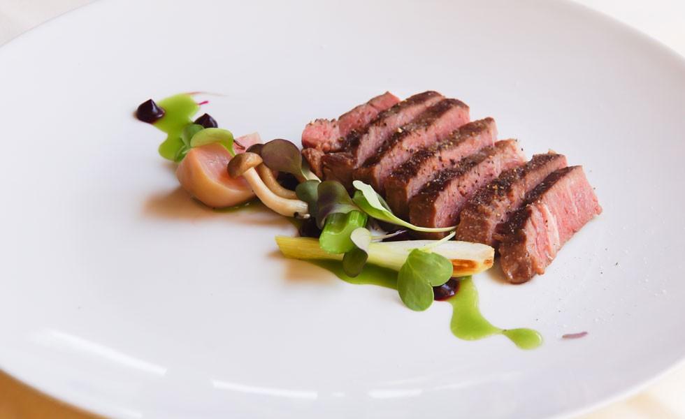 Rezept Dry-Aged Steak-Streifen mit Gemüse-Pickles
