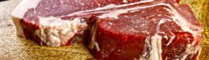 Gereiftes Rindfleisch Dry Aged