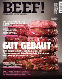 BEEF! The leading meat magazin in Europe