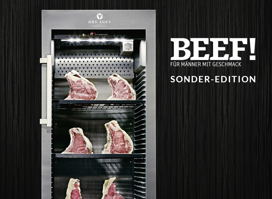 Dry Ager Reifeschrank BEEF! Edition