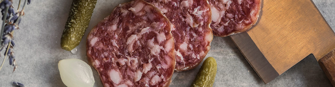 Salami and cucumber - DRY AGER