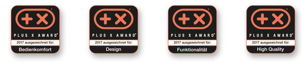 DRY AGER – ausgezeichnet in 4 Kategorien des Plus X Award